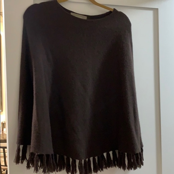 ply cashmere Sweaters - Cashmere Poncho